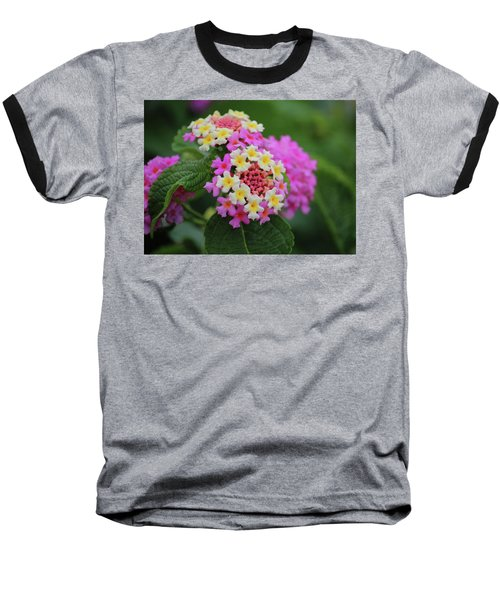 Baseball T-Shirt featuring the photograph Tiny Bouquets by Rowana Ray