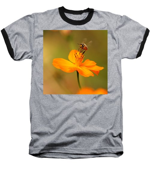 Baseball T-Shirt featuring the photograph Tiny Dancer by Marion Cullen