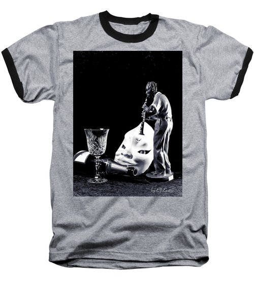 Baseball T-Shirt featuring the photograph Tiny Desk Concert by Elf Evans