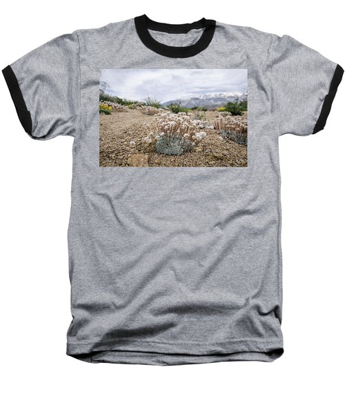 Baseball T-Shirt featuring the photograph Tiny Mountain Blooms by Margaret Pitcher