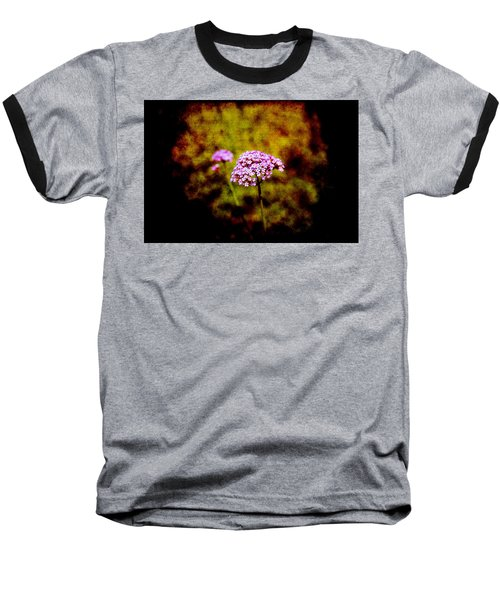Tiny Purple Beauties Baseball T-Shirt
