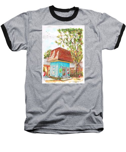 Tiny Tree Boutique In Los Olivos, California Baseball T-Shirt by Carlos G Groppa