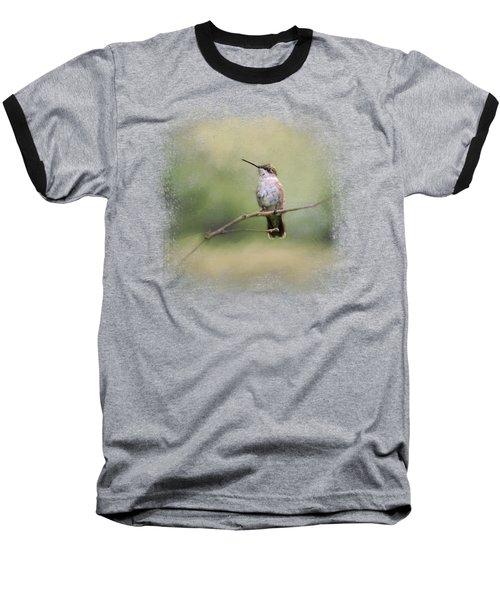 Tiny Visitor Baseball T-Shirt