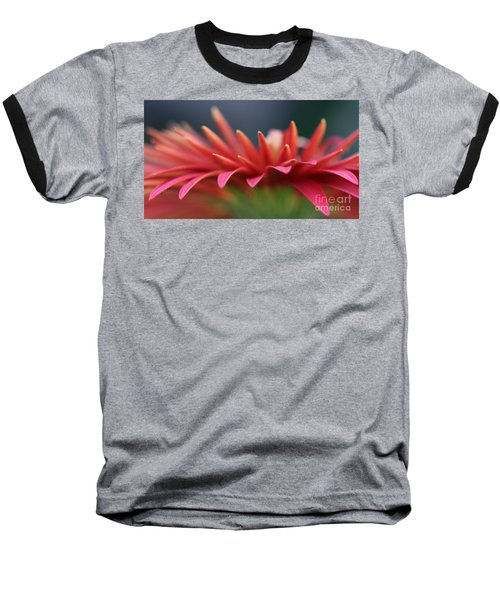 Tip Of The Flower Petals Baseball T-Shirt