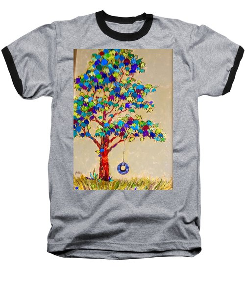 Tired Tree Baseball T-Shirt