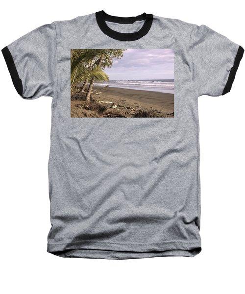 Tiskita Pacific Ocean Beach Baseball T-Shirt