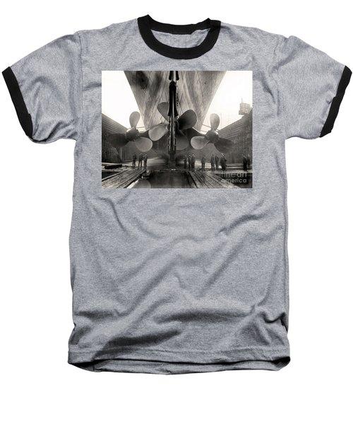 Titanic's Propellers  Baseball T-Shirt