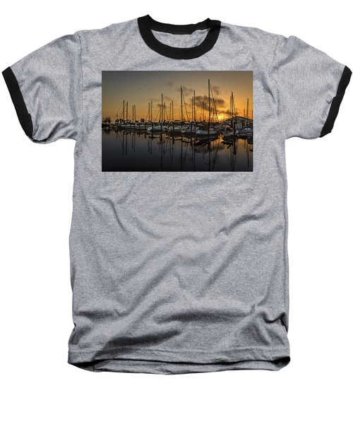Titusville Marina Baseball T-Shirt
