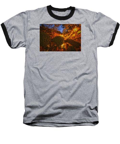 Baseball T-Shirt featuring the photograph Tlaquepaque Evening by Laura Pratt