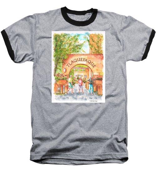 Tlaquepaque Gallery In Sedona, Arizona Baseball T-Shirt