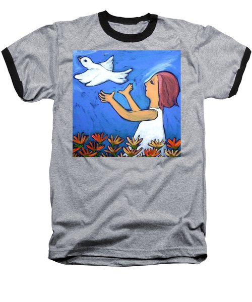 To Fly Free Baseball T-Shirt