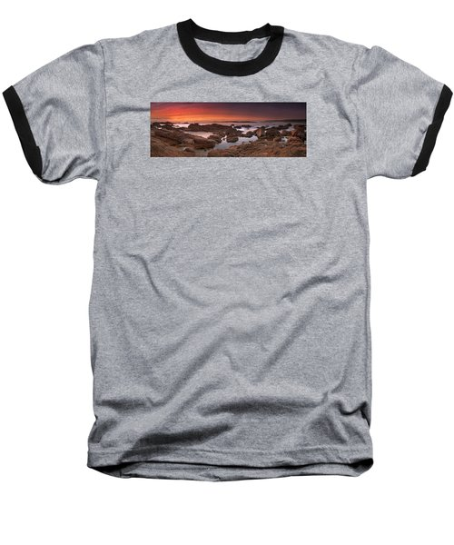 Baseball T-Shirt featuring the photograph To Sea's Unknown by John Chivers