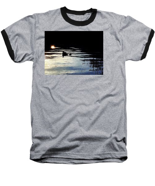 Baseball T-Shirt featuring the photograph To The Light by Menega Sabidussi