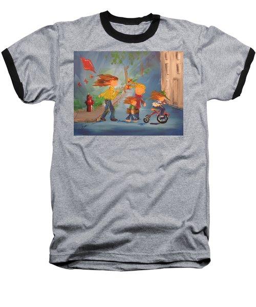 To The Park Baseball T-Shirt by Terri Einer