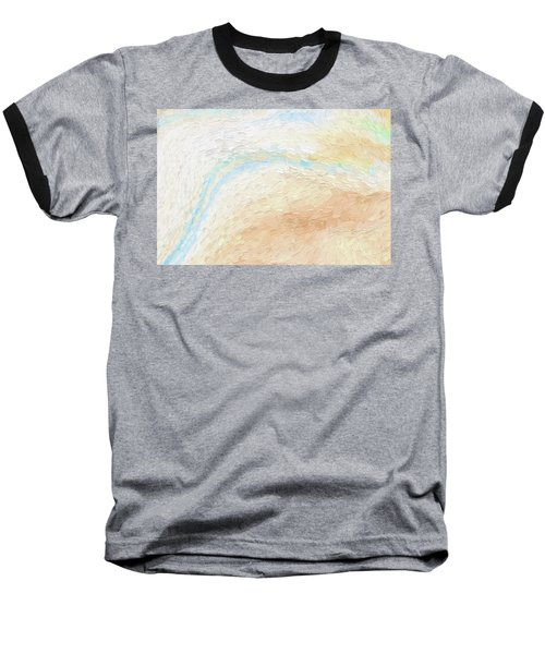To The Sea Baseball T-Shirt by Bonnie Bruno