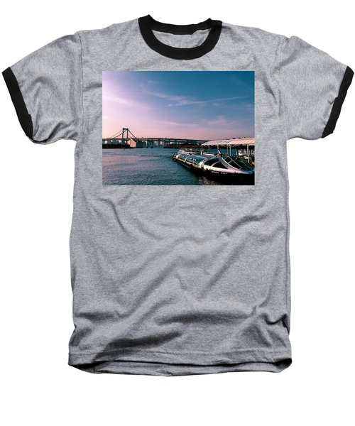 To The Space From Sea Baseball T-Shirt