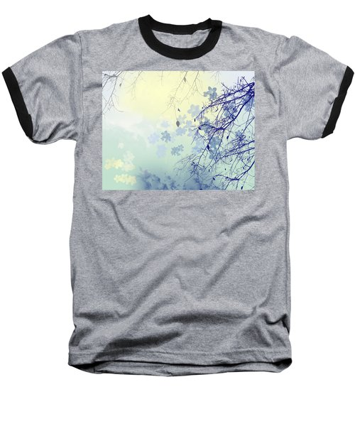 To The Waiting One Baseball T-Shirt by Trilby Cole