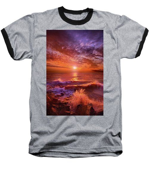 Baseball T-Shirt featuring the photograph To Thine Own Self Be True by Phil Koch