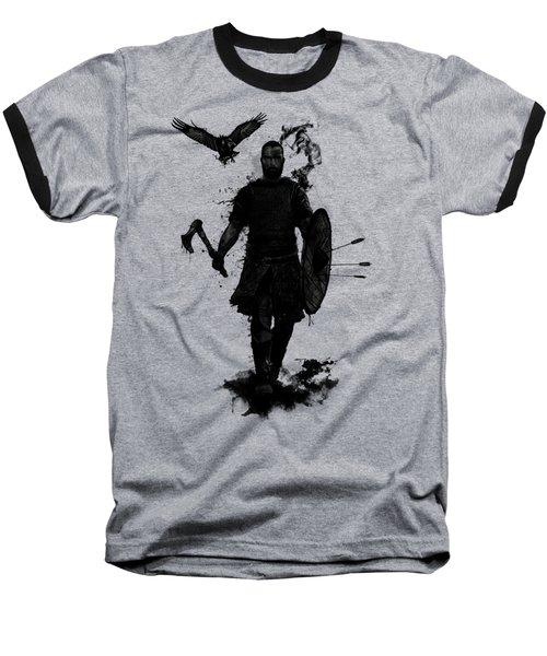 To Valhalla Baseball T-Shirt by Nicklas Gustafsson