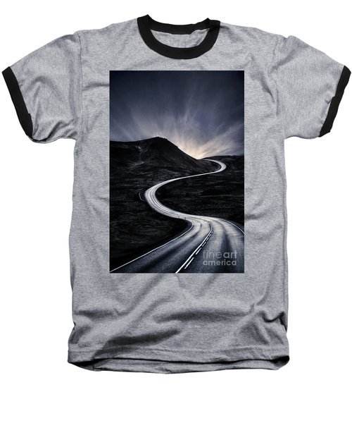 To Where The Darkness Ends Baseball T-Shirt