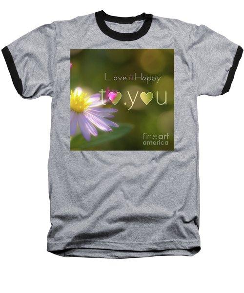 To You #003 Baseball T-Shirt