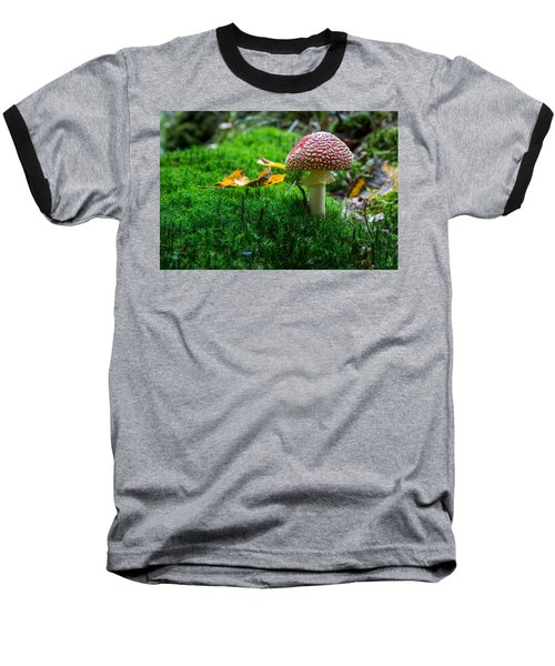 Toadstool Baseball T-Shirt