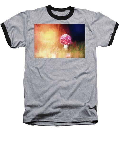 Toadstool Mind Baseball T-Shirt