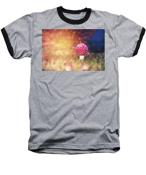 Toadstool Story Baseball T-Shirt