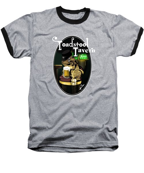 Toadstool Tavern  Baseball T-Shirt