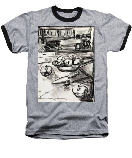 Apples At Breakfast Baseball T-Shirt