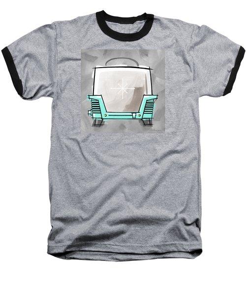 Toaster Aqua Baseball T-Shirt