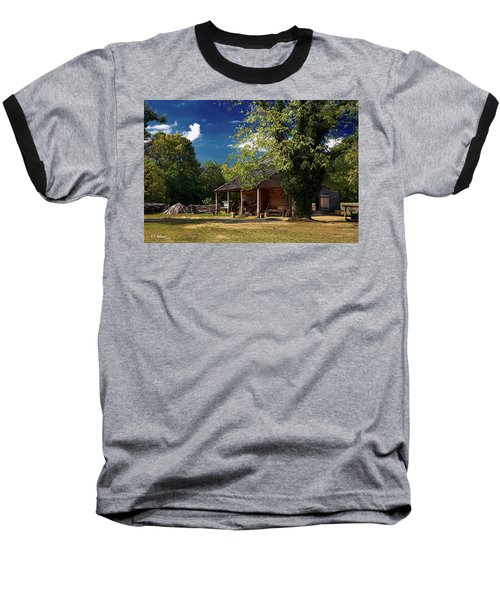 Tobacco Barn Baseball T-Shirt