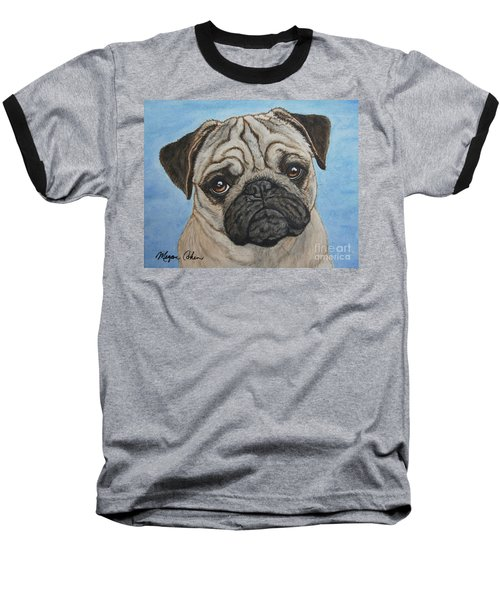 Toby The Pug Baseball T-Shirt