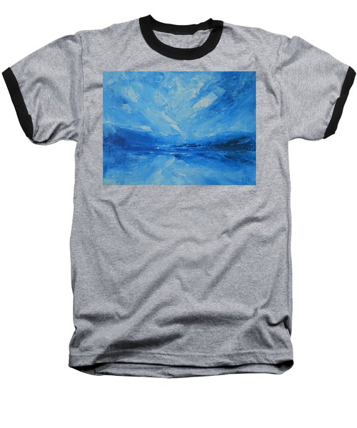 Today I Soar Baseball T-Shirt by Jane See