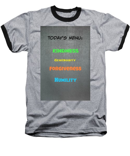 Today's Menu #4 Baseball T-Shirt