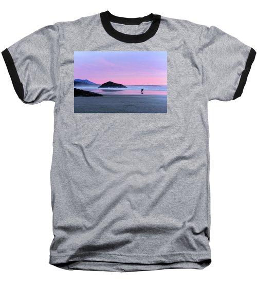 Tofino Sunset Baseball T-Shirt by Keith Boone
