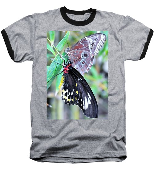 Baseball T-Shirt featuring the photograph Together Always by Kicking Bear Productions