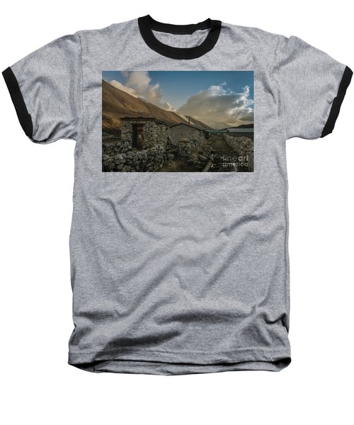 Baseball T-Shirt featuring the photograph Toilet by Mike Reid