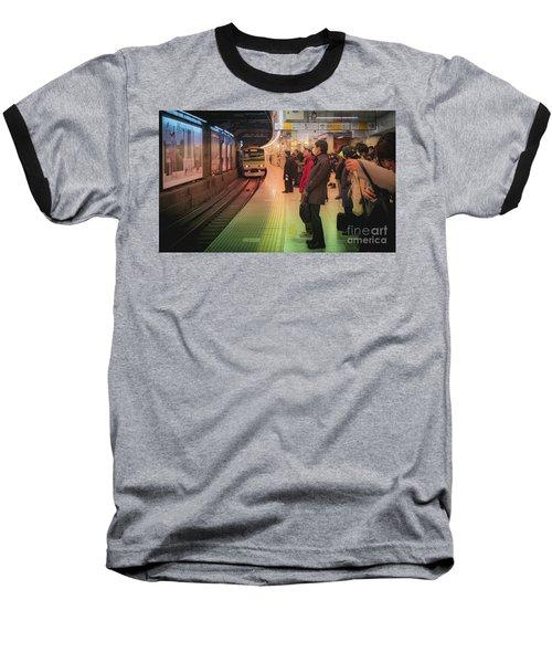 Tokyo Metro, Japan Baseball T-Shirt