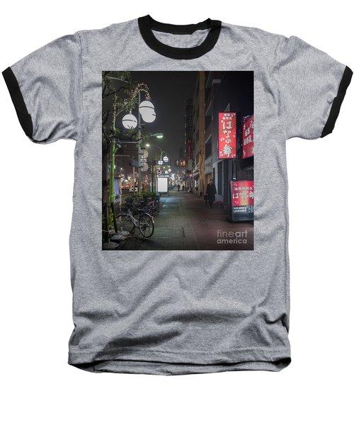 Tokyo Streets, Asakusa, Japan Baseball T-Shirt