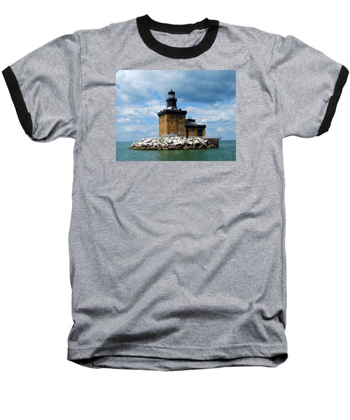 Baseball T-Shirt featuring the photograph Toledo Harbor Lighthouse by Michiale Schneider