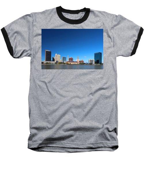 Toledo Skyline I Baseball T-Shirt