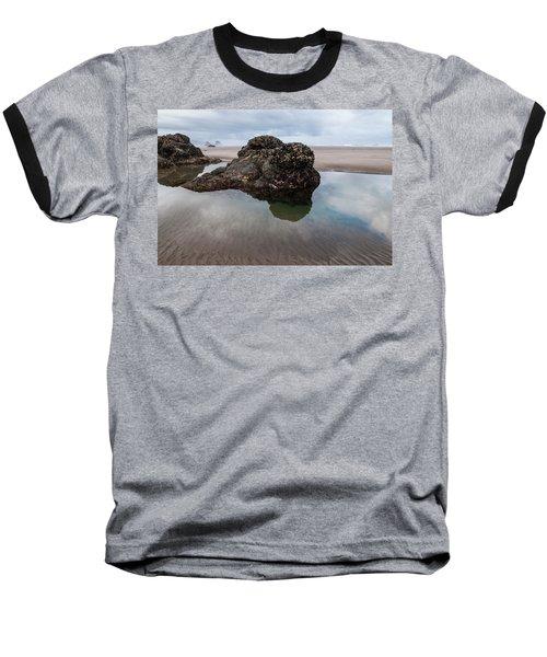 Tolovana Beach At Low Tide Baseball T-Shirt