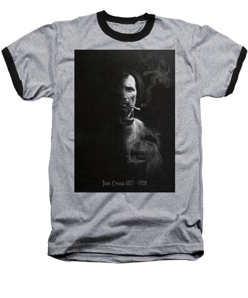 Tom Crean Antarctic Explorer - Dated Portrait Baseball T-Shirt