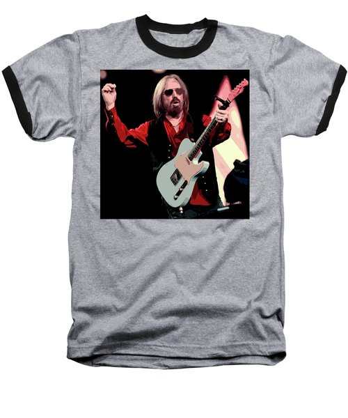Tom Petty, Hypnotic Eye Baseball T-Shirt