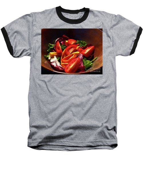 Tomato Salad Baseball T-Shirt