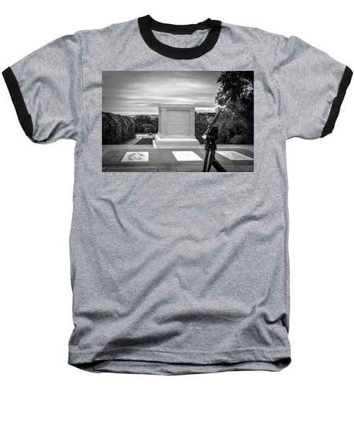 Baseball T-Shirt featuring the photograph Tomb Of The Unknown Solider by David Morefield