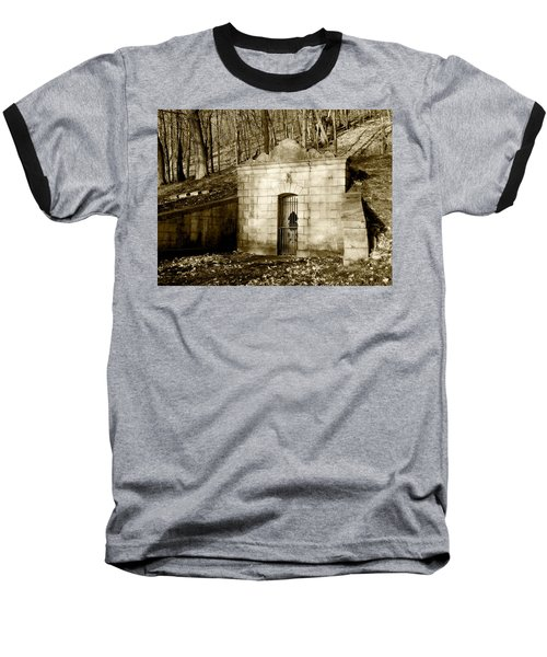 Tomb With A View In Sepia Baseball T-Shirt