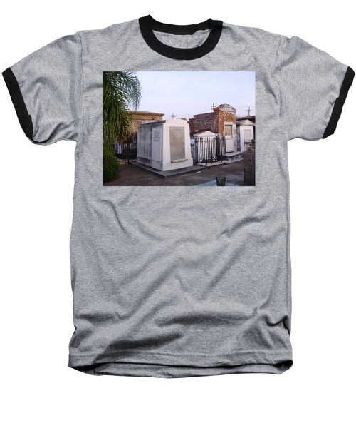 Tombs In St. Louis Cemetery Baseball T-Shirt