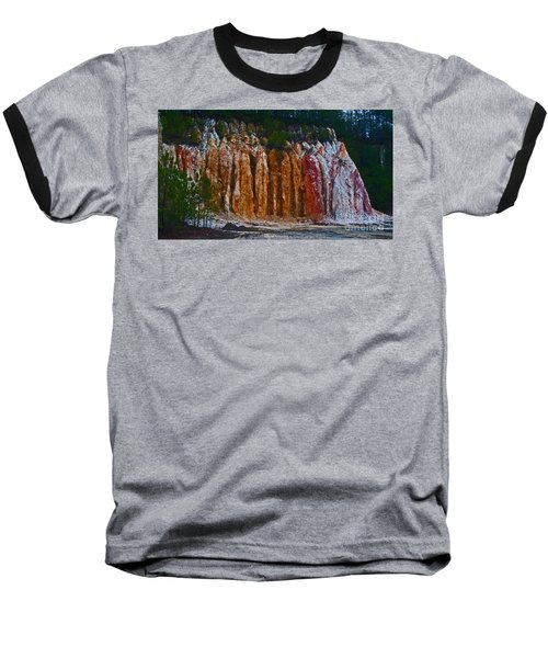 Tombs Land Formation Baseball T-Shirt